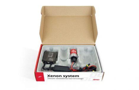 Motoros Amio H1 xenon szett slim trafós 12V35W 8000 K