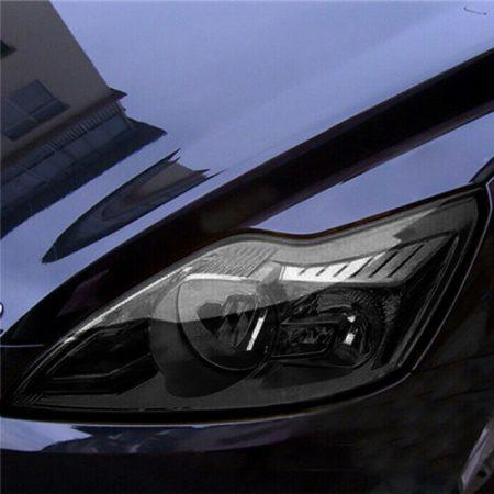 Autó lámpa-fólia fekete füstös